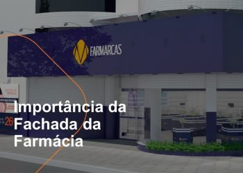 A fachada da farmácia é um dos itens mais importantes da comunicação da loja. Ela é responsável por conversar com o consumidor e trazê-lo ara dentro do ponto de venda.