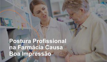 Clientes esperam o melhor em atendimento e informação quando vão a uma loja. A postura profissional na farmácia é importante para causar boa impressão.