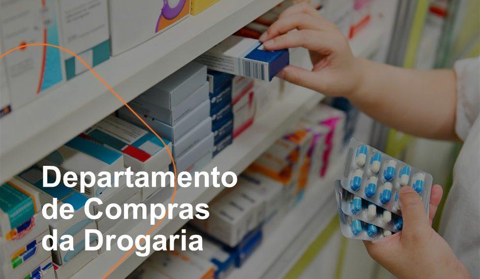 O departamento de compras da farmácia é essencial para o bom funcionamento do negócio e a reposição de itens da loja para evitar ruptura de estoque.